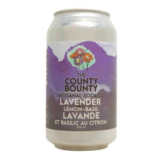 Soda - Lavender Lemon Basil (The County Bounty)
