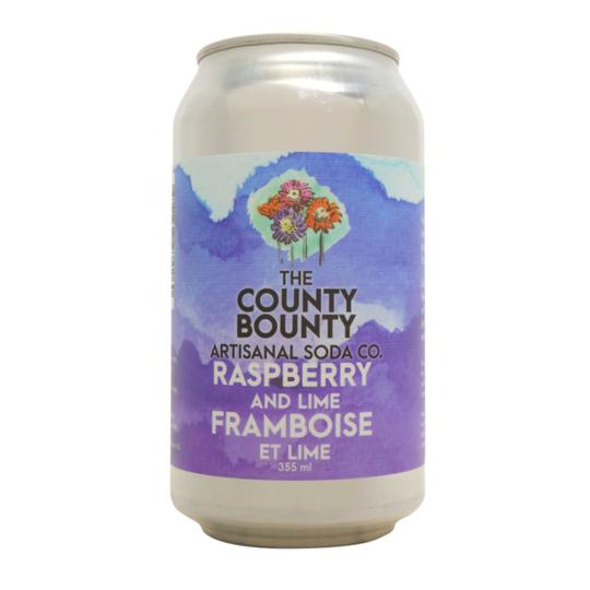 Soda - Raspberry & Lime (The County Bounty)