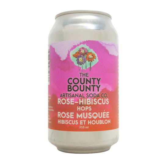 Soda - Rose Hibiscus Hops (The County Bounty)