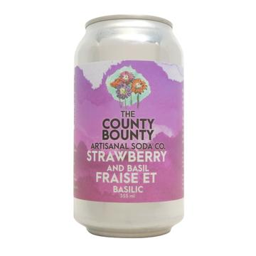 Soda - Strawberry Basil (The County Bounty)