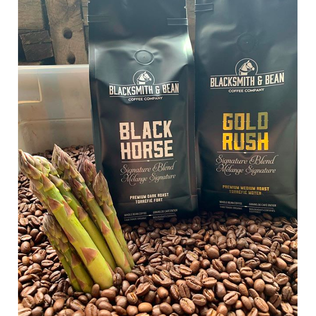 Coffee - Black Horse Dark Fairtrade Organic (Includes $1 Jar Deposit)
