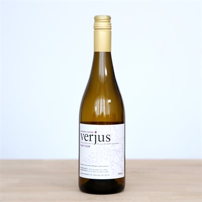 Verjus - Pinot Noir Sustainably Grown - Hughes Estates