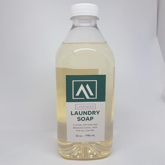 Laundry Soap- Lavender <BR> (Includes $1 Jar Deposit)