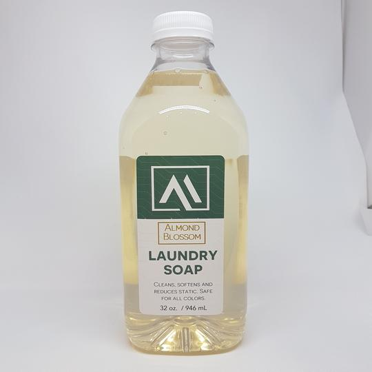 Laundry Soap- Almond Blossom <BR> (Includes $1 Jar Deposit)