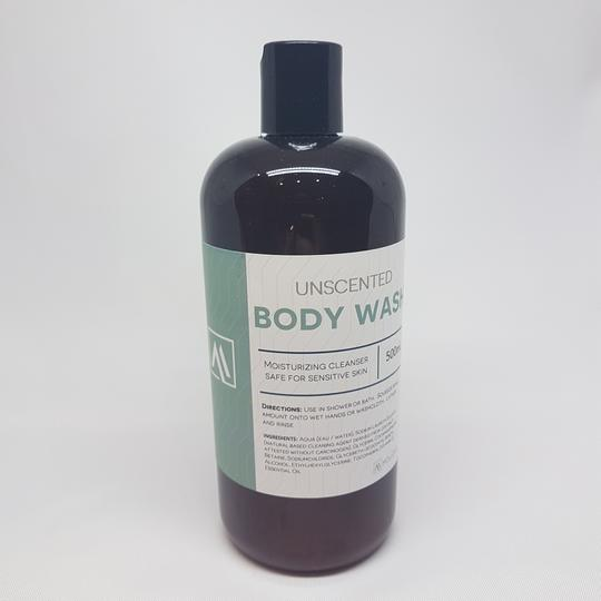 Body Wash- Unscented <BR> (Includes $1 Jar Deposit)