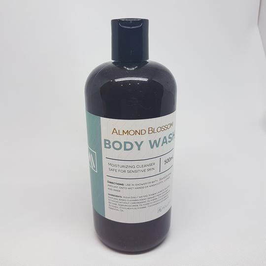 Body Wash- Almond Blossom <BR> (Includes $1 Jar Deposit)