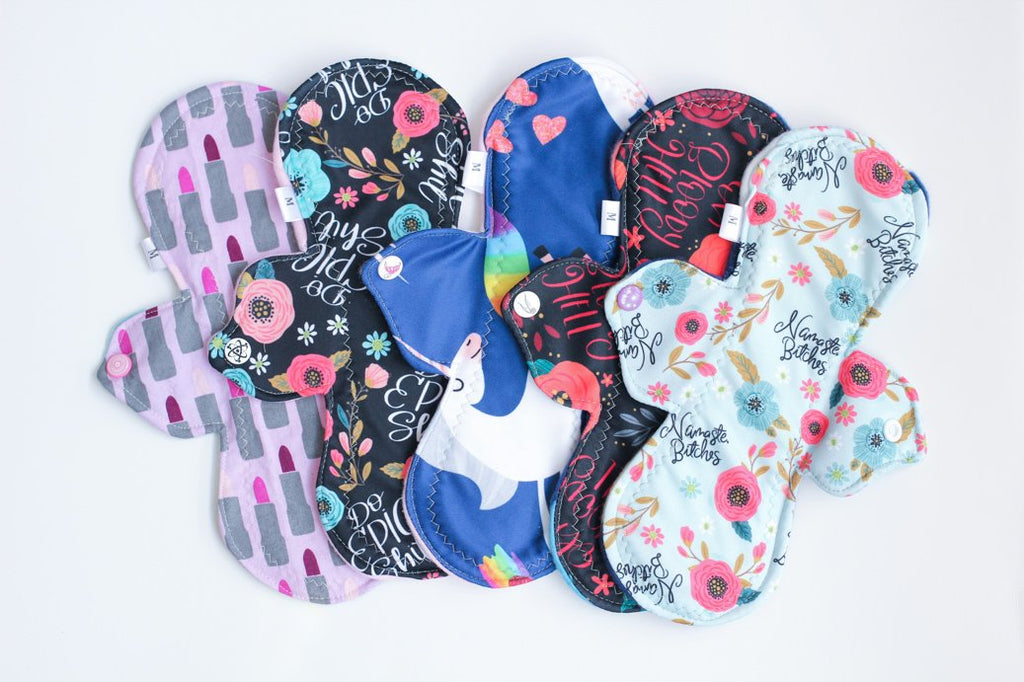 Reusable Menstrual Pad (Rhymes with Orange)