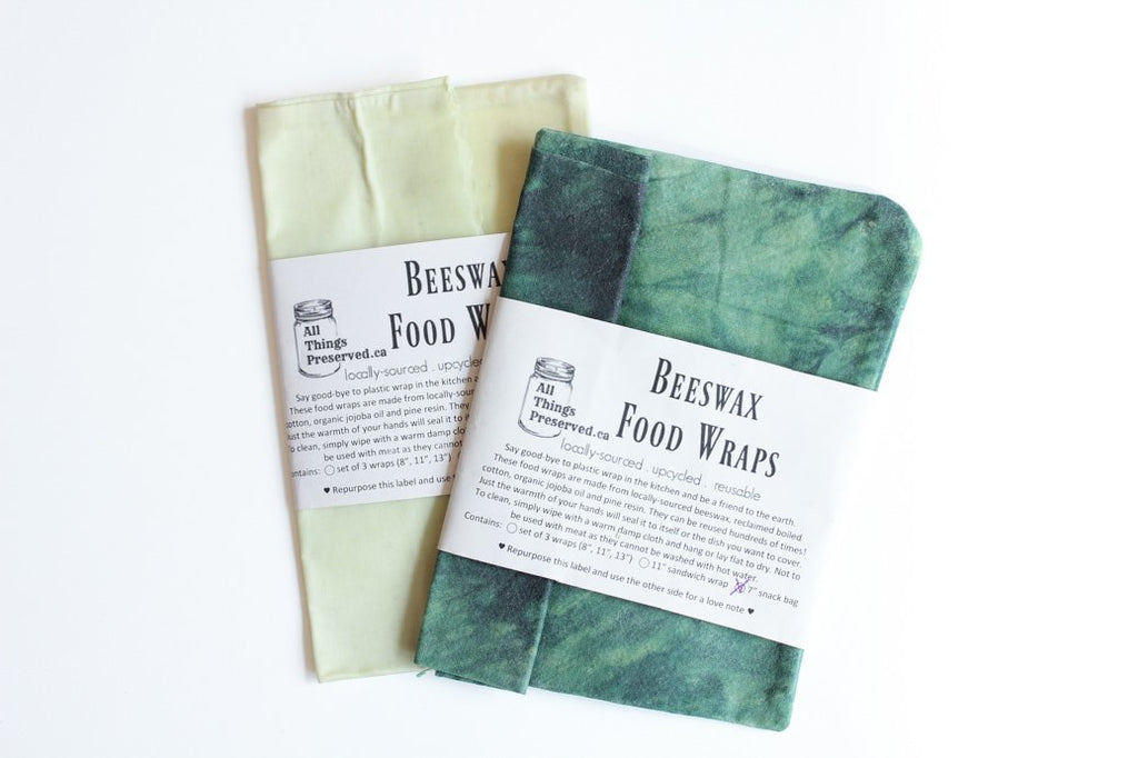 Beeswax Snack Bag (All Things Preserved)