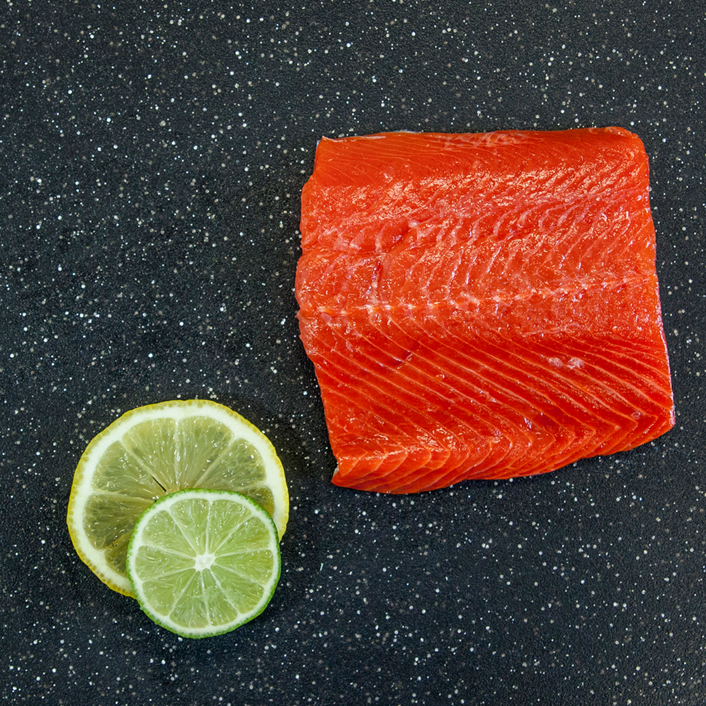 Salmon Sockeye Fillets, Skin-On, Boned, Wild Caught, Product of B.C.