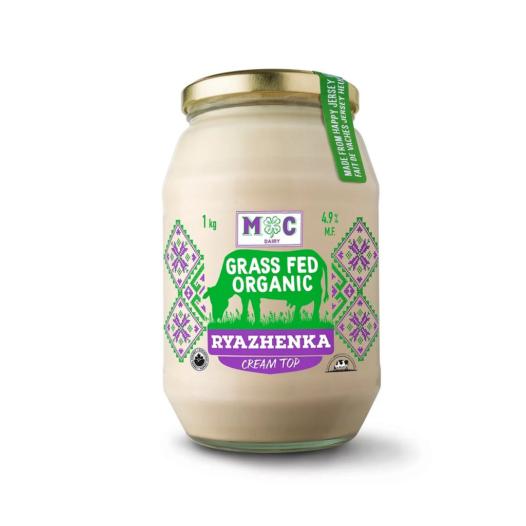 Ryazhenka - Grass Fed Organic (M-C Dairy) <BR> (Includes $1 Jar Deposit)