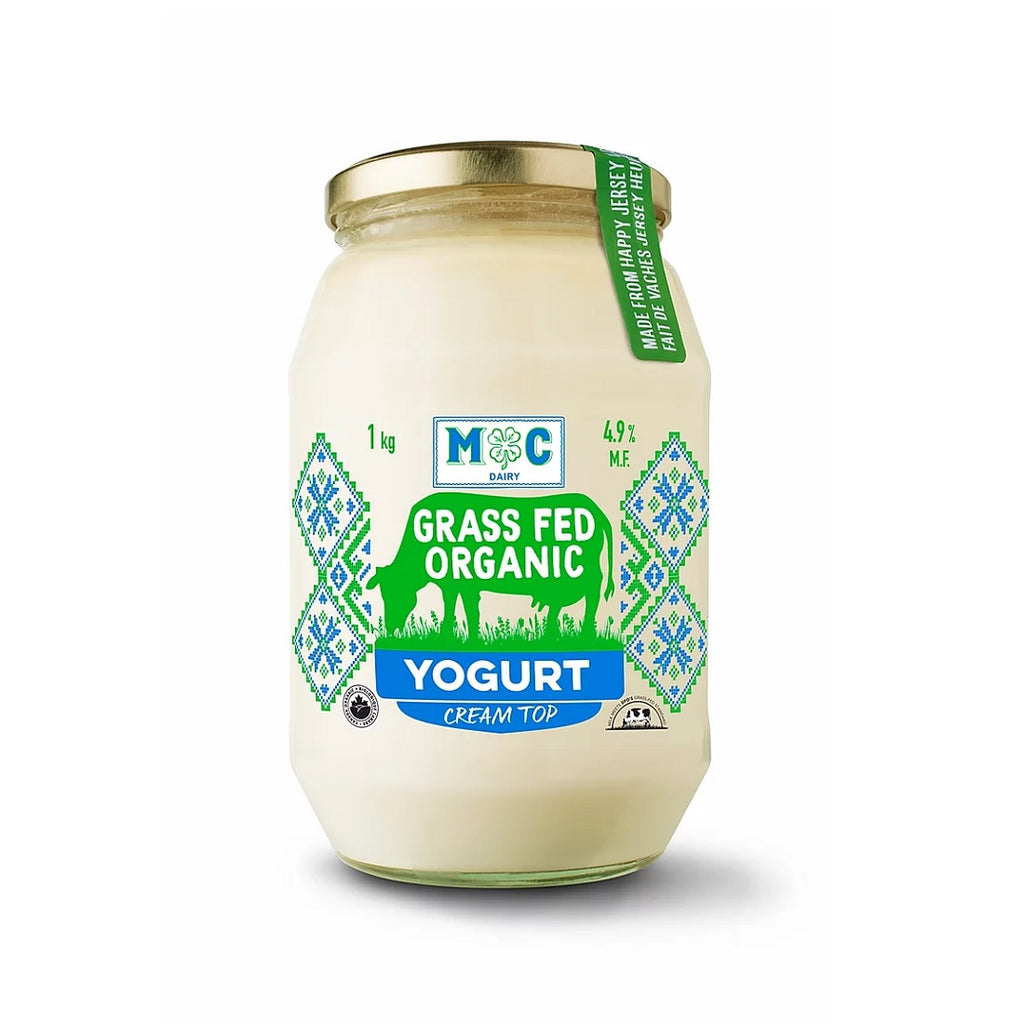 Yogurt - Grass Fed Organic (M-C Dairy) <BR> (Includes $1 Jar Deposit)