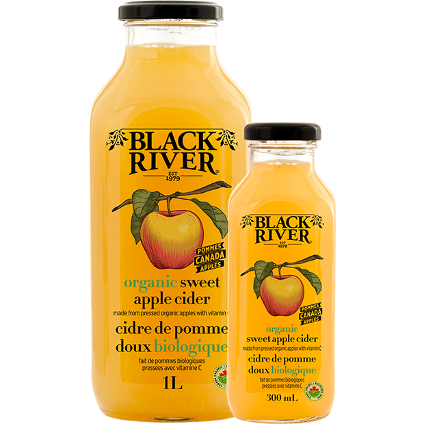 Organic Sweet Apple Cider - Black River