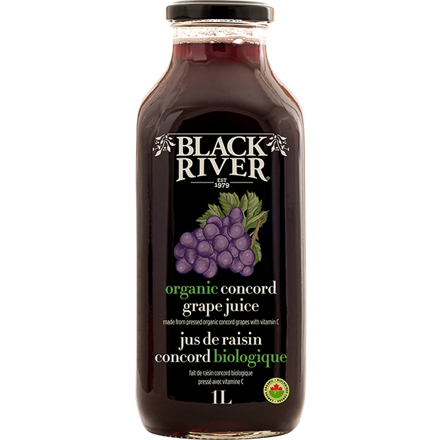 Juice - Organic Concord Grape - Black River