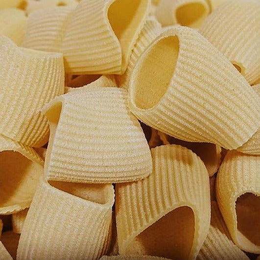 Pasta - Fresh Pacheri Rigati (Farina Plus - Frozen) <BR> (Includes $1 Jar Deposit)