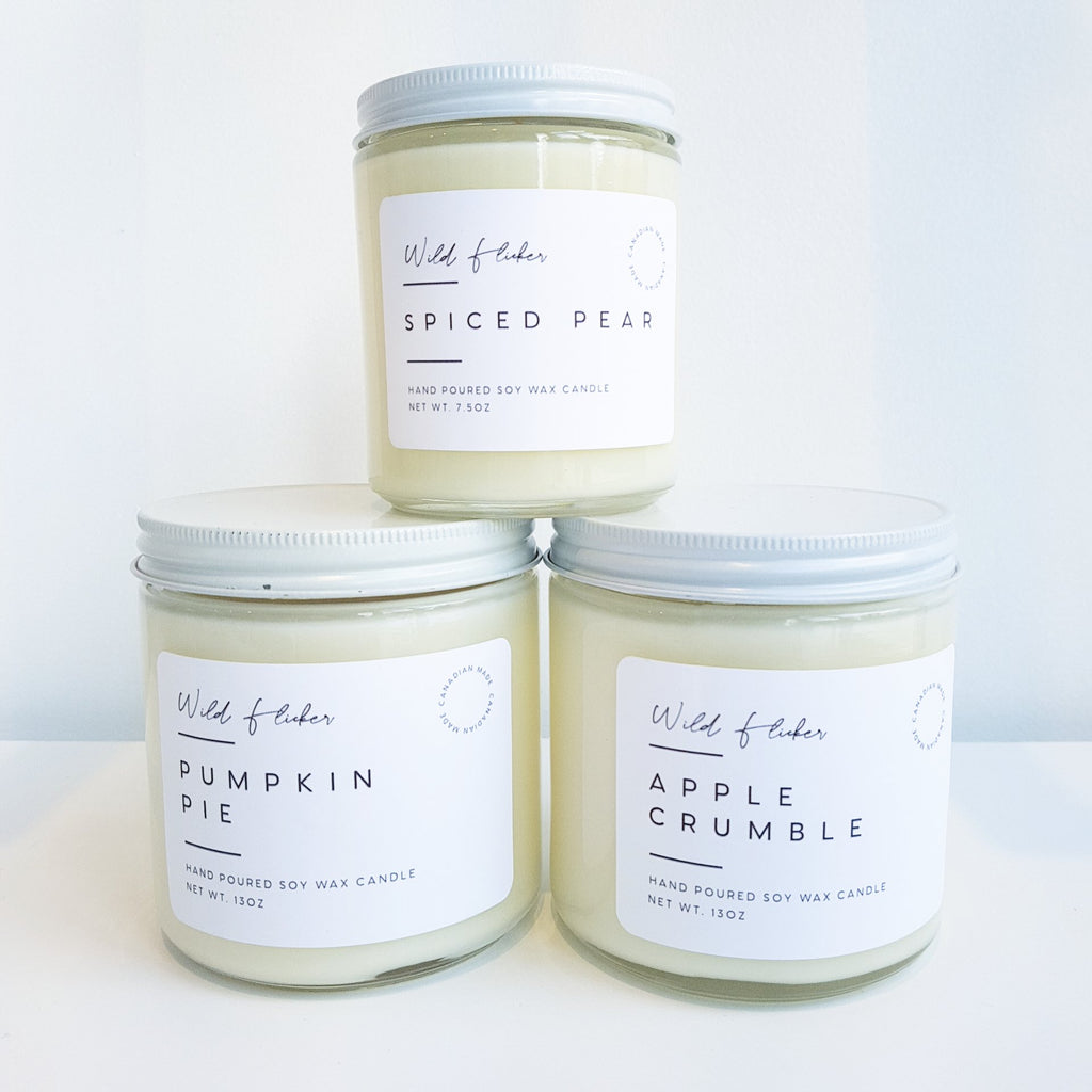 Wild Flicker Soy Wax Candle