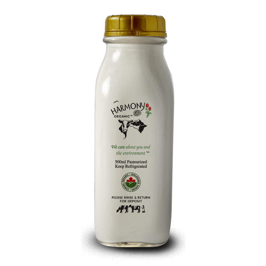 10% Cream - Harmony Organic <BR> (Includes $2 Bottle Deposit)