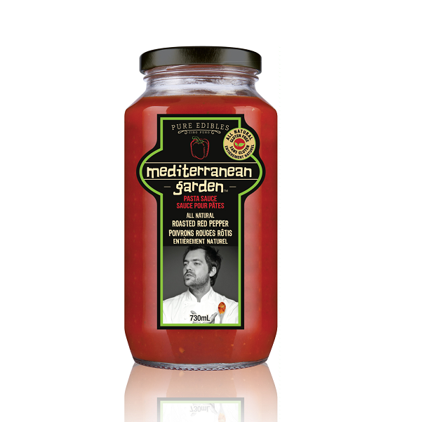 Pasta Sauce - Roasted Red Pepper - Mediterranean Garden