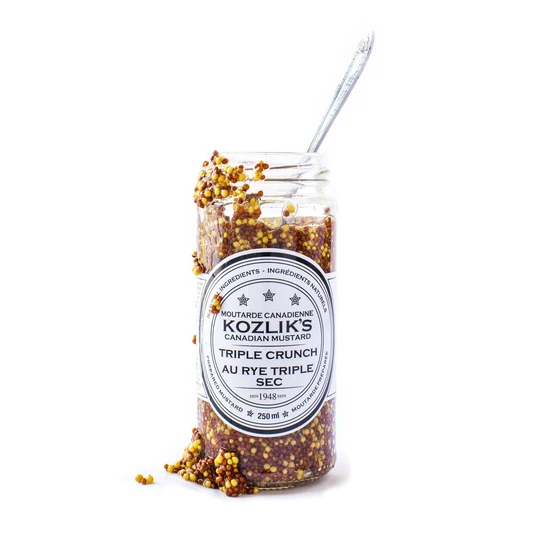 Mustard - Triple Crunch - Kozliks <BR> (Includes $1 Jar Deposit)