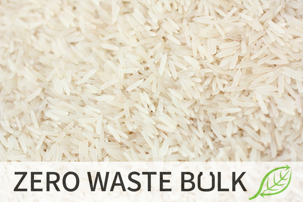 Rice - White Basmati Organic <BR> (Includes $1 Jar Deposit)