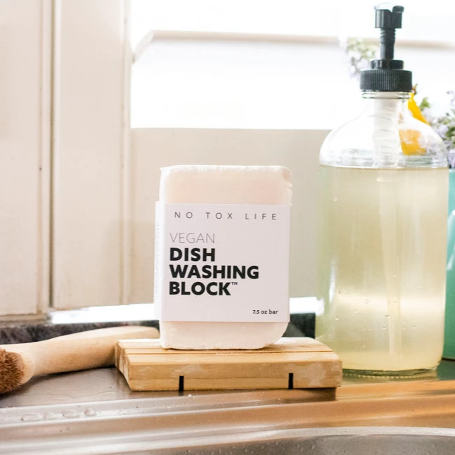 Vegan Dish Washing Block - No Tox Life