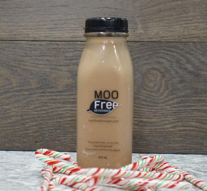Chocolate Peppermint Almond Milk - Moo Free <BR> (Includes $2 Bottle Deposit)