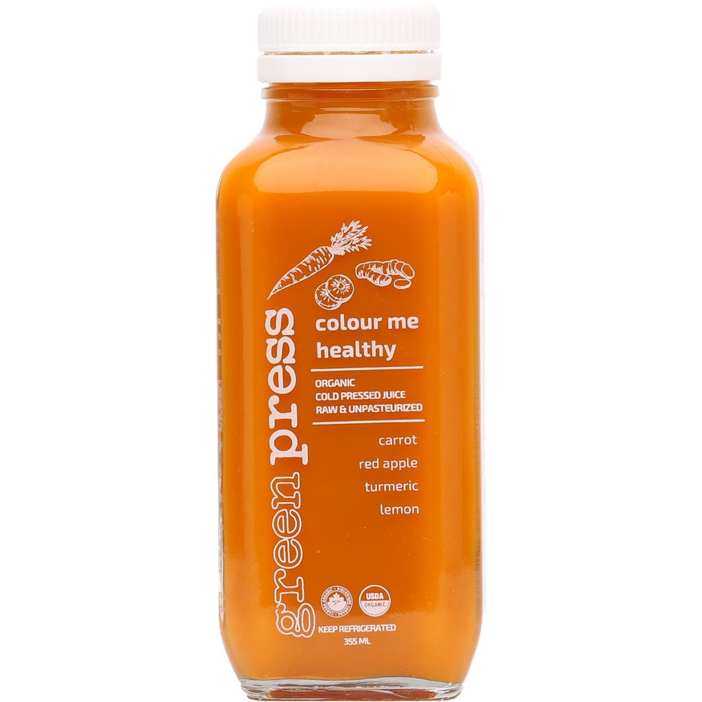 Cold Pressed Juice - Colour me healthy