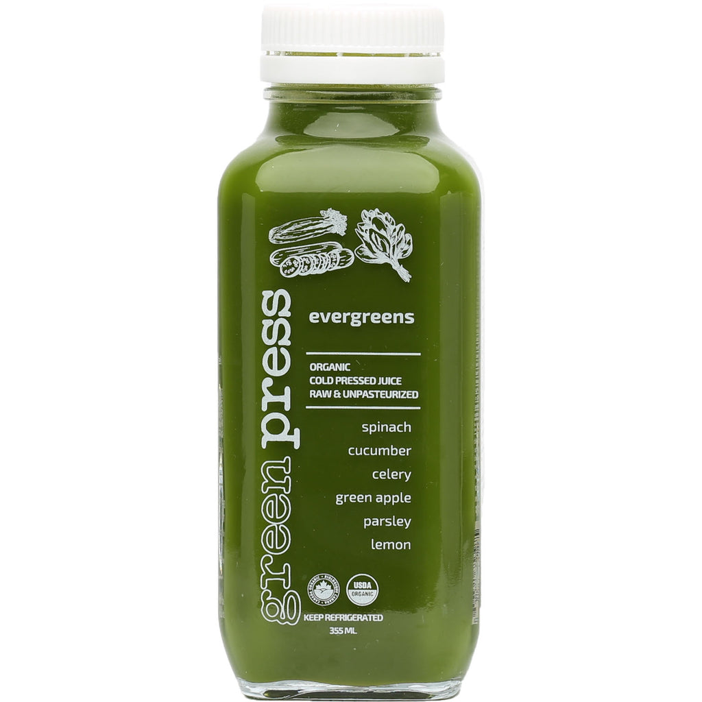 Cold Pressed Juice - Evergreens