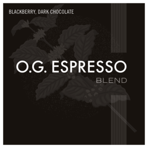 Coffee - O.G. Espresso - Relay Coffee Roasters(Includes $1 Jar Deposit)