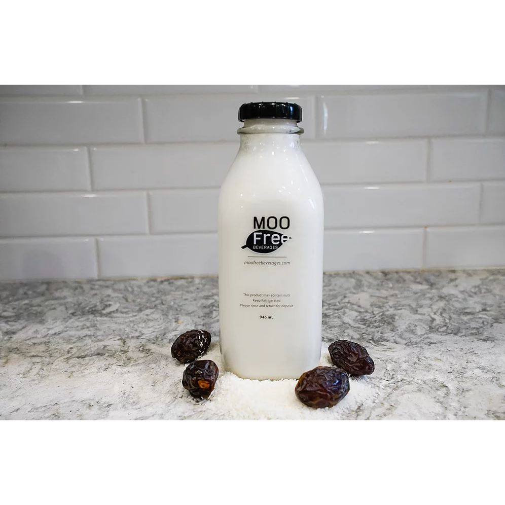 Coconut Milk Sweetened - Moo Free <BR> (Includes $2 Bottle Deposit)