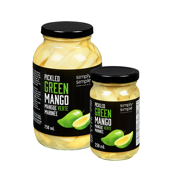 Pickled Green Mango - Simply Simple
