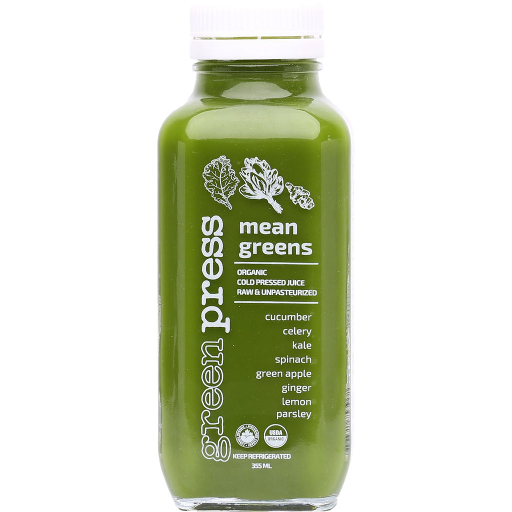 Cold Pressed Juice - Mean Greens
