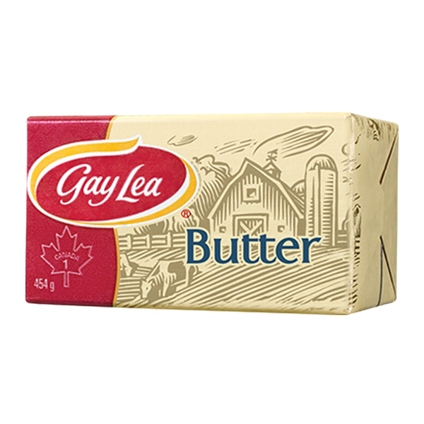Butter - Unsalted <BR> Gay Lea