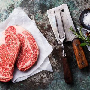 Beef - Rib Eye Steak 1 Inch Cut (10-12 OZ)