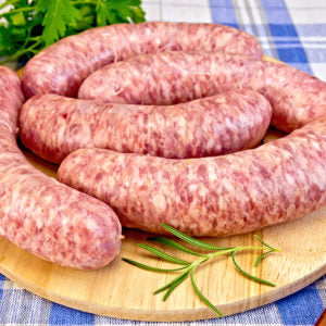 Pork Sausages - Garlic & Ale (1LB)