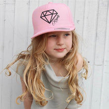 Load image into Gallery viewer, Pink Youth Snapback