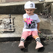 Load image into Gallery viewer, White Toddler Snapback