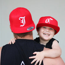 Load image into Gallery viewer, Red Adult Snapback