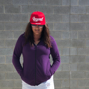 Red Adult Snapback