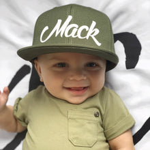 Load image into Gallery viewer, Khaki Toddler Snapback