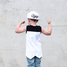 Load image into Gallery viewer, White Youth Snapback