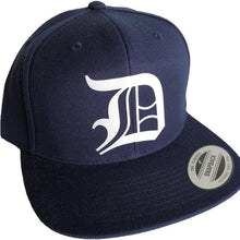 Load image into Gallery viewer, Navy Adult Snapback