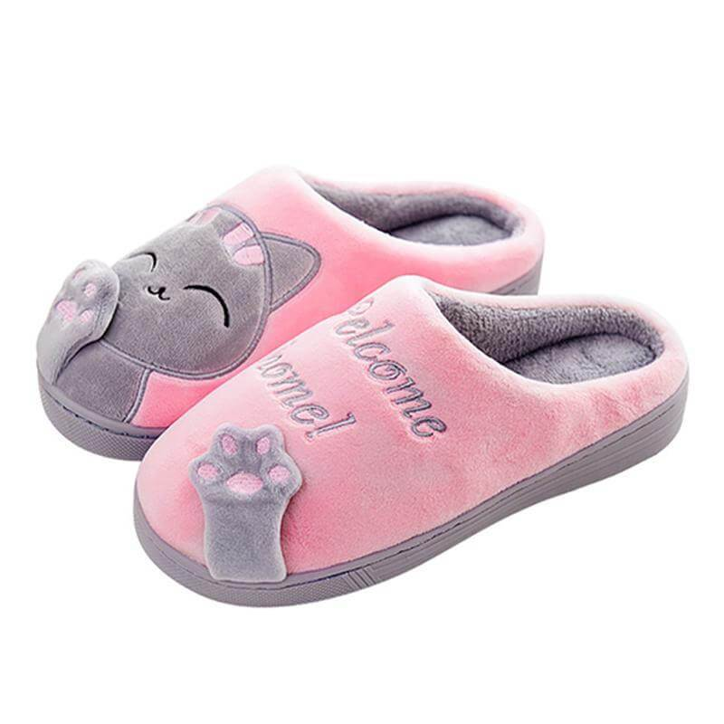 852bab69350 Cute Cat Slippers - Pink   6. Add to Cart