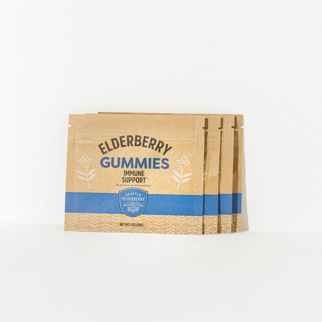 Elderberry Gummy Packet