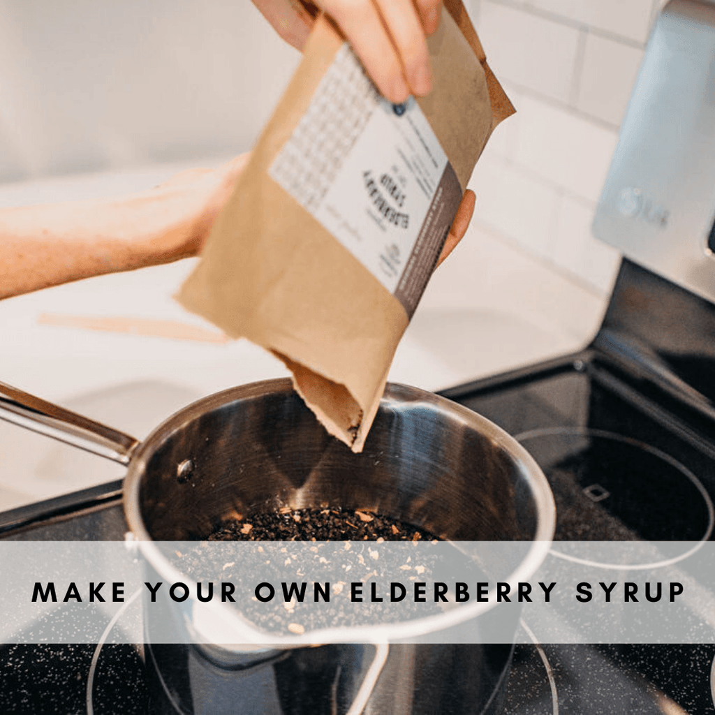 Seasonal Support DIY Organic Elderberry Syrup Kit DIY Kit Seattle Elderberry