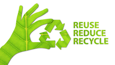 Reduce Reuse Recycle - Eco-friendly