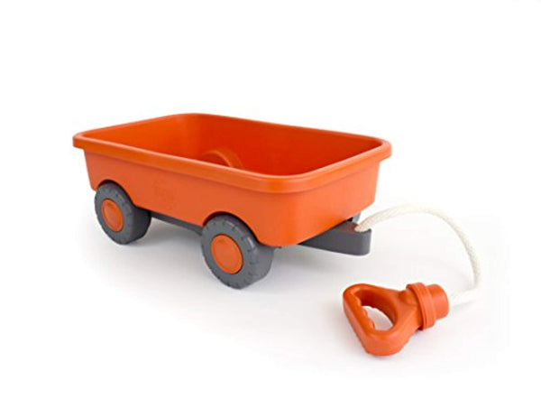 Green Toys Wagon Outdoor Toy Orange - Eco Trade Company
