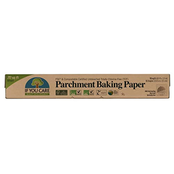 FSC Certified Unbleached Parchment Baking Paper, 70 sq ft - Eco Trade Company