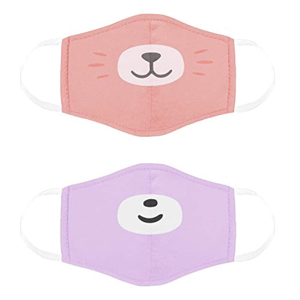 Kids Face Masks, Reusable and Washable Cloth Face Masks for Any Occasion, 2 Pack - Eco Trade Company