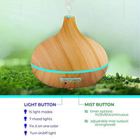Ultimate Aromatherapy Diffuser & Essential Oil Set - Eco Trade Company