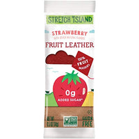 Stretch Island Original Fruit Leather, Strawberry, 0.5 Ounce Leathers, 30 Count - Eco Trade Company